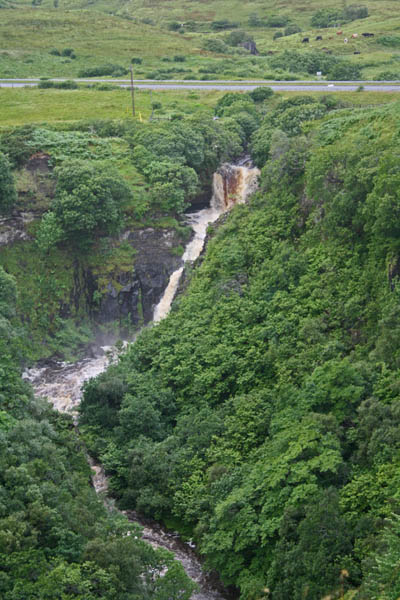 Lealt Falls, Isle of Skye, Scotland. © J. Lynn Stapleton, 3rd August, 2013