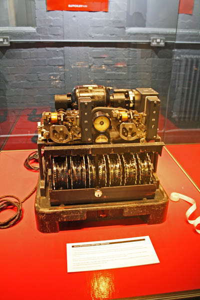 Lorenz Schlusselzusatz Cypher machine, Bletchley Park Museum, Milton-Keynes, UK. © J. Lynn Stapleton, 6th August 2013