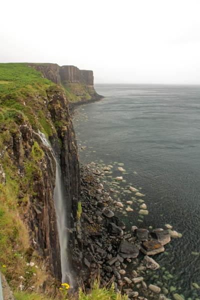 Mealt Falls, Elishader, Isle of Skye. © J. Lynn Stapleton, 3rd July 2013