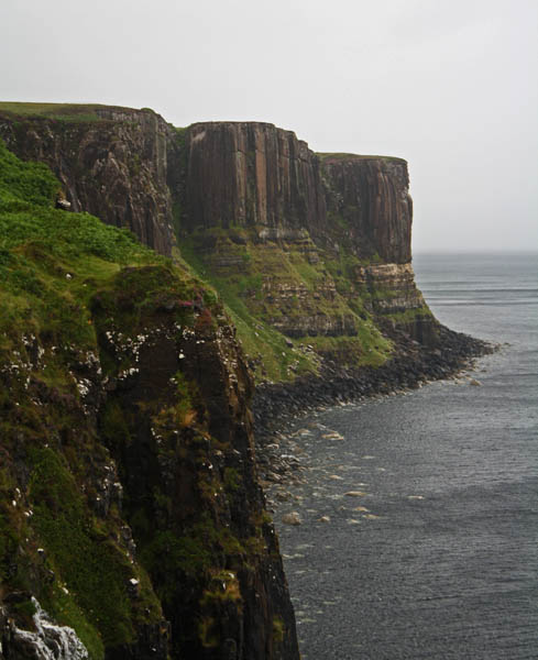 Kilt Rock, Elishader, Isle of Skye. © J. Lynn Stapleton, 3rd August 2013