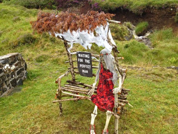 Scarecrow, Tattie Bogle Scarecrow Festival, Isle of Skye, Scotland. © J. Lynn Stapleton, 4th August, 2013