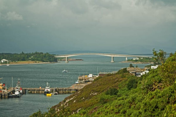 Skye Bridge, Kyle of Lochalsh, Scotland. © J. Lynn Stapleton, 4th August, 2013