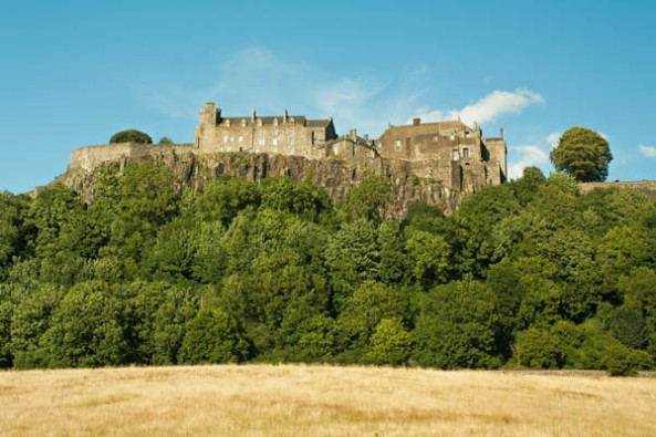 Stirling Castle, Stirling, Scotland. © J. Lynn Stapleton, 4th August, 2013