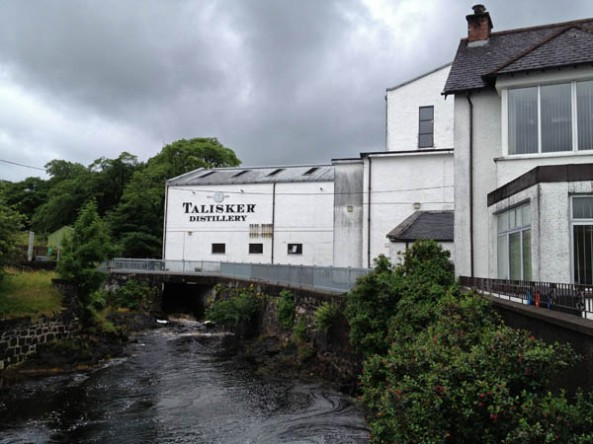 Talisker Whiskey Distillery, Carbost, Isle of Skye, Scotland. © J. Lynn Stapleton, 3rd August, 2013