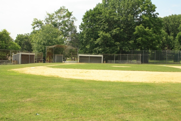 Ball field, Peapack, NJ, 6th July 2011. © J. Lynn Stapleton