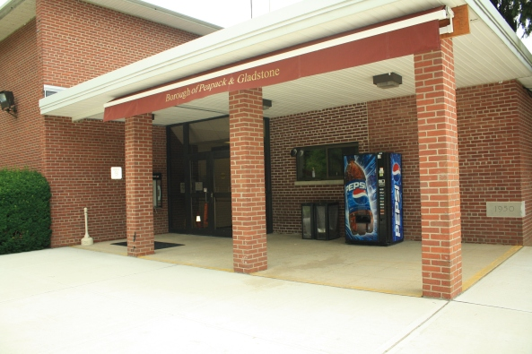 Peapack/Springfield Municipal offices & Police Dept., Peapack, NJ, 6th July 2011. © J. Lynn Stapleton