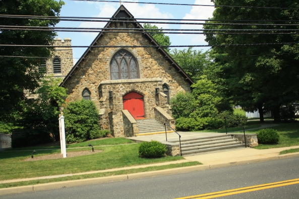 St James Church, Peapack, NJ, 6th July 2011. © J. Lynn Stapleton
