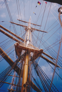Tall Ships 2000 (point and shoot), unedited. July 2000. © J. Lynn Stapleton